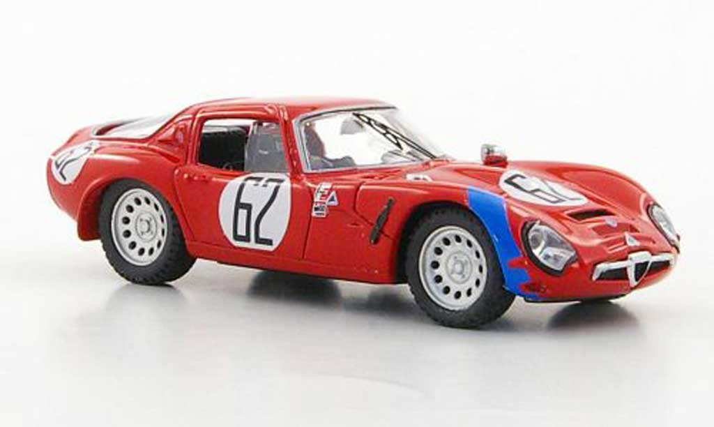Alfa Romeo TZ2 1/43 Best No.62 Bianchi / Consten Sebring 1966 miniature