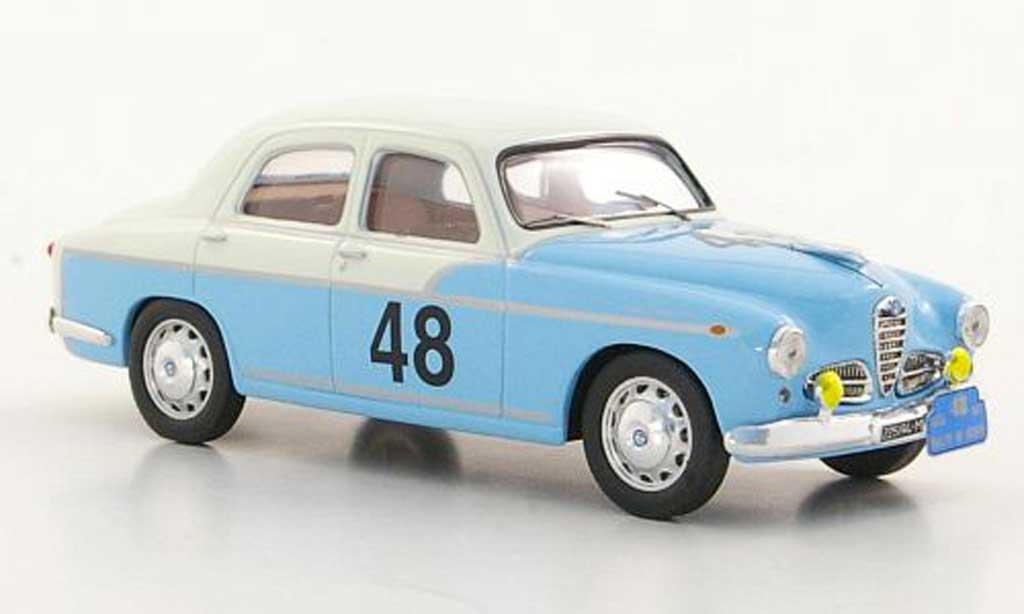 Alfa Romeo 1900 1/43 M4 Berlina No.48 M. + D. Leto di Pinto Rally Genf 1957 miniature
