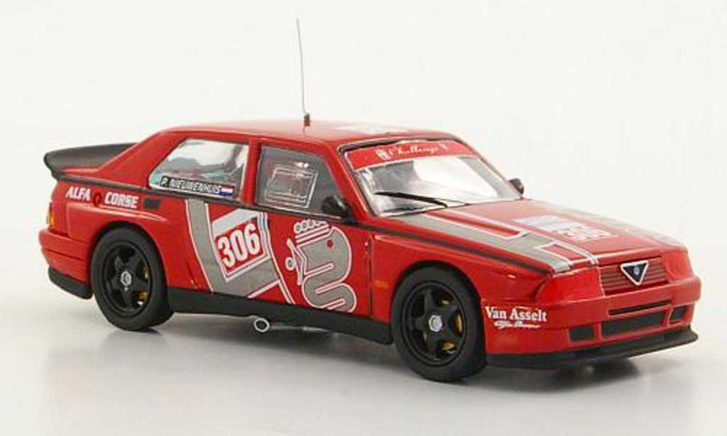 Alfa Romeo 75 Evoluzione 1/43 M4 No.306 P.Nieuwenhuis IMSA 1989 miniature