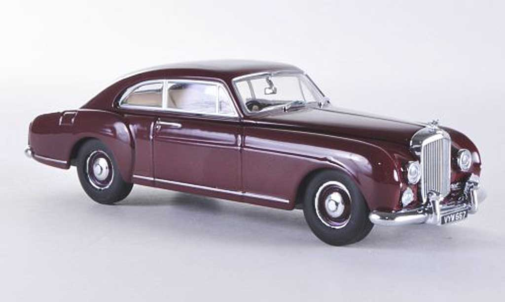 Bentley Continental S1 1/43 Oxford Series 1 Fastback rouge RHD miniature