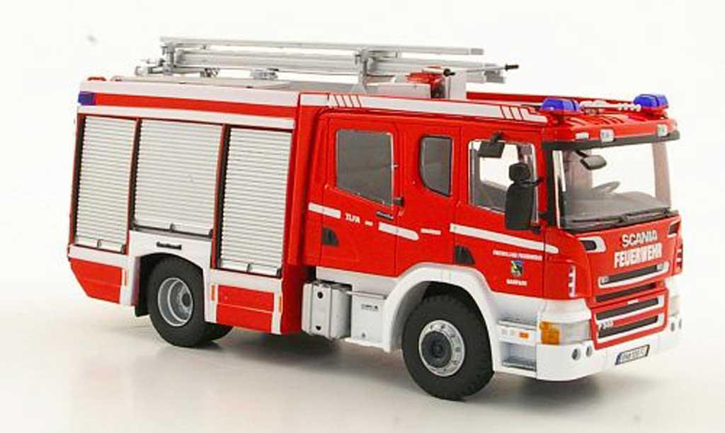Scania Serie R 1/43 Eligor AluFire3 DoKa Freiwillige pompieGainfarn (AT) miniature