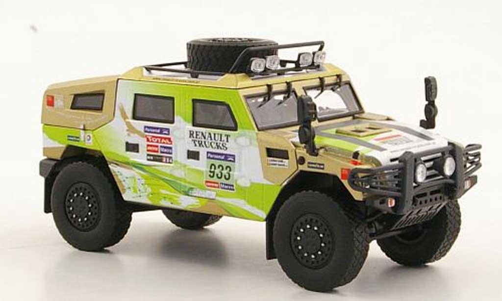 Renault Sherpa 1/43 Eligor No.933 A.Daniel / D.Manuel Rally Dakar 2011 miniature