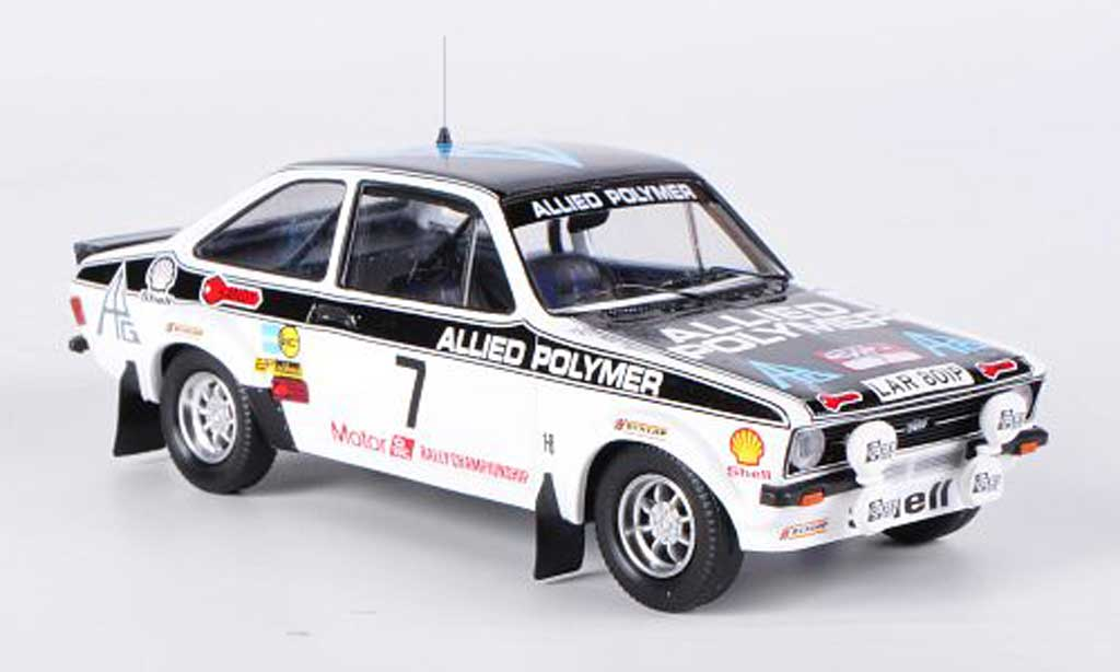 Ford Escort RS 1800 1/43 Trofeu MKNo.7 Allied Polymer Welsh Rally 1976 Vatanen/Bryant miniature