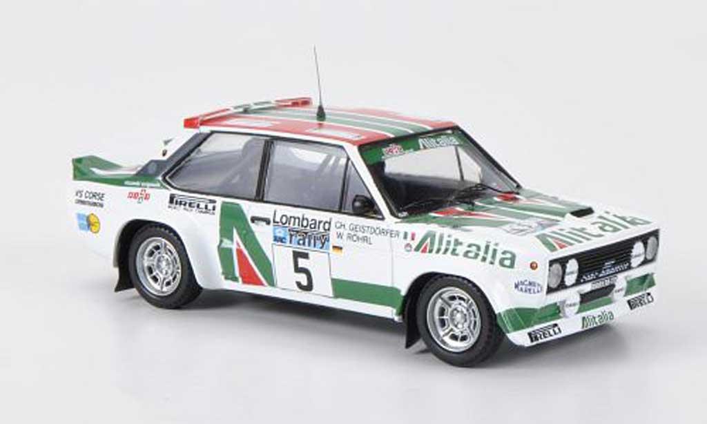 Fiat 131 Abarth 1/43 Trofeu No.5 Alitalia W.Rohrl / Ch.Geistdorfer RAC Rally Grossbritannien 1978 miniature