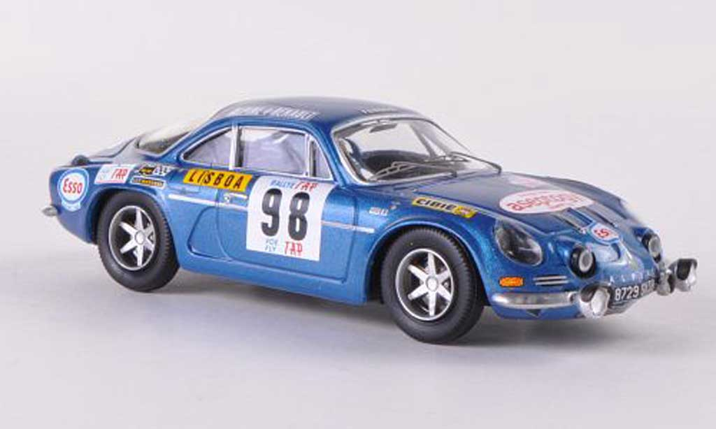 Alpine A110 1/43 Trofeu No.98 Aseptogyl Rally Portugal 1971 B.Neyret/Termorsi diecast model cars