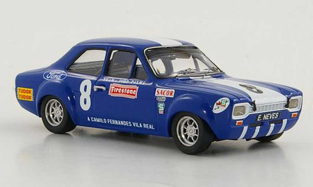 Ford Escort RS 1600 1/43 Trofeu TC No.8 Team Ford-Palma E.Neves 6h Vila Real 1969 miniature
