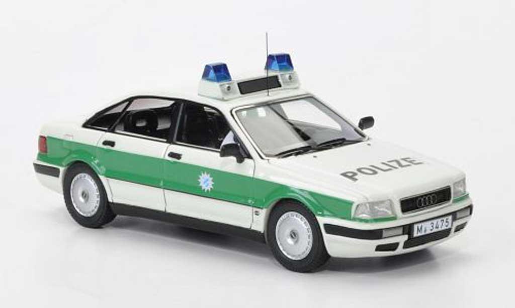 Audi 80 1/43 Neo (B4) Polizei Bayern 1992 miniature