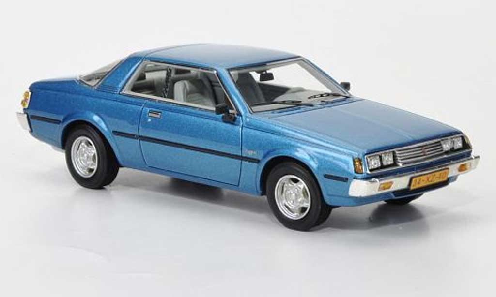 Mitsubishi Sapporo 1/43 Neo MkI Coupe bleu 1982 miniature