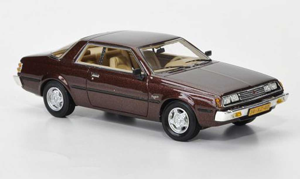 Mitsubishi Sapporo 1/43 Neo MkI Coupe marron 1982 miniature