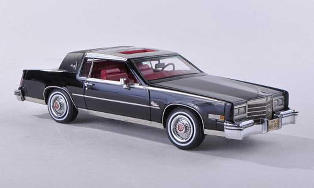 Cadillac Eldorado 1/43 Neo Biaritz noire/d 1980 miniature