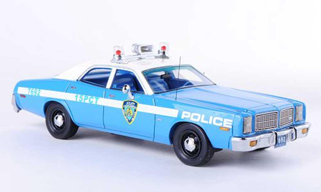 Dodge Monaco 1978 1/43 Neo Monaco Polizei (USA) miniature