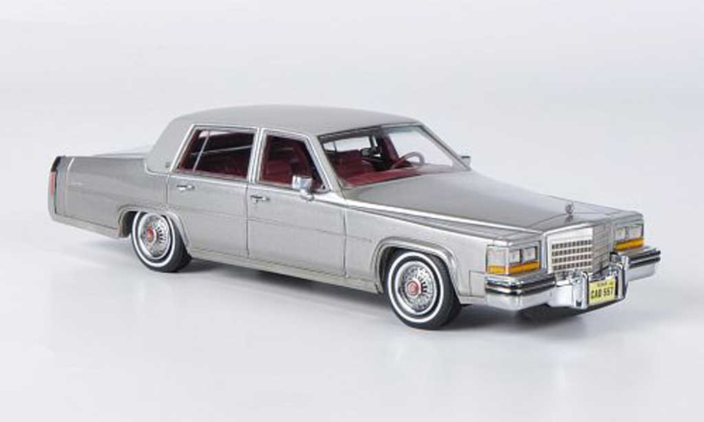 Cadillac Fleetwood Brougham 1/43 Neo grise/grise 1980 miniature