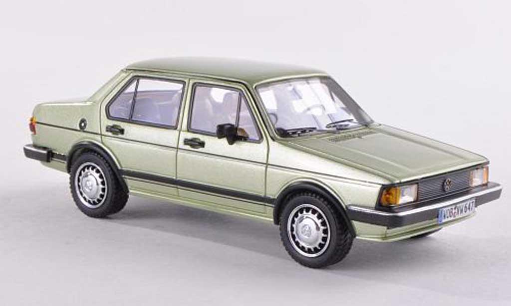 Volkswagen Jetta 1/43 Neo I clair-vert 4-portes 1980 diecast model cars