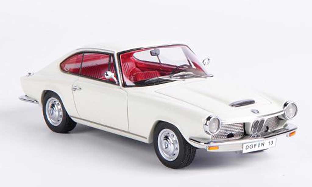 Bmw 1600 GT 1/43 Neo blanche 1967 miniature