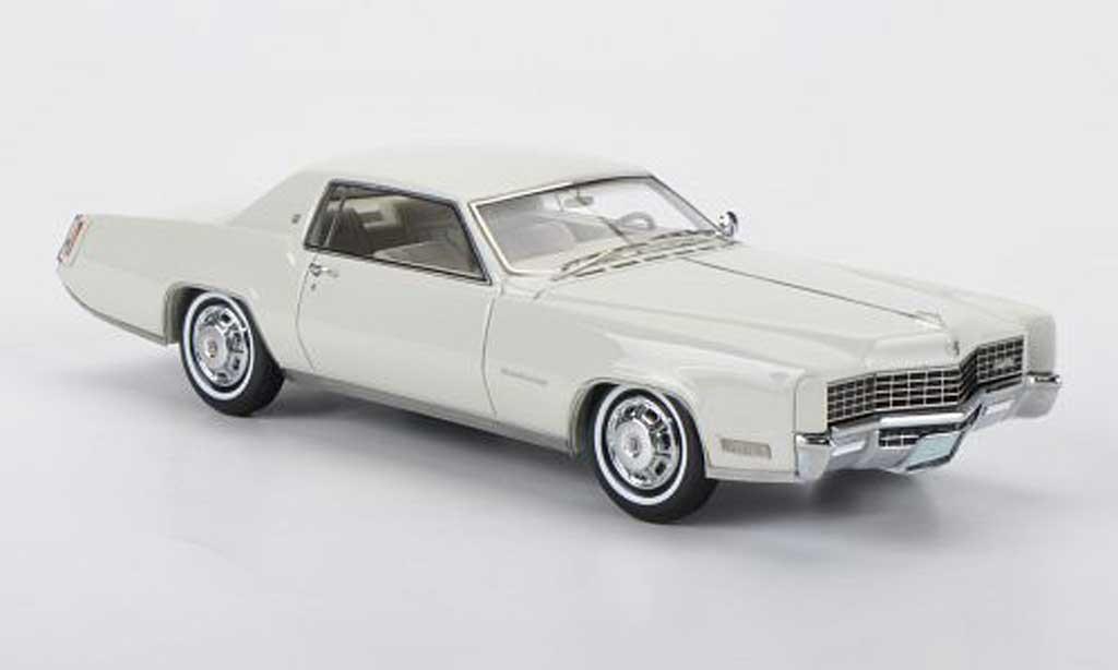 Cadillac Eldorado 1/43 Neo 2-portes Coupe blanche 1968 miniature