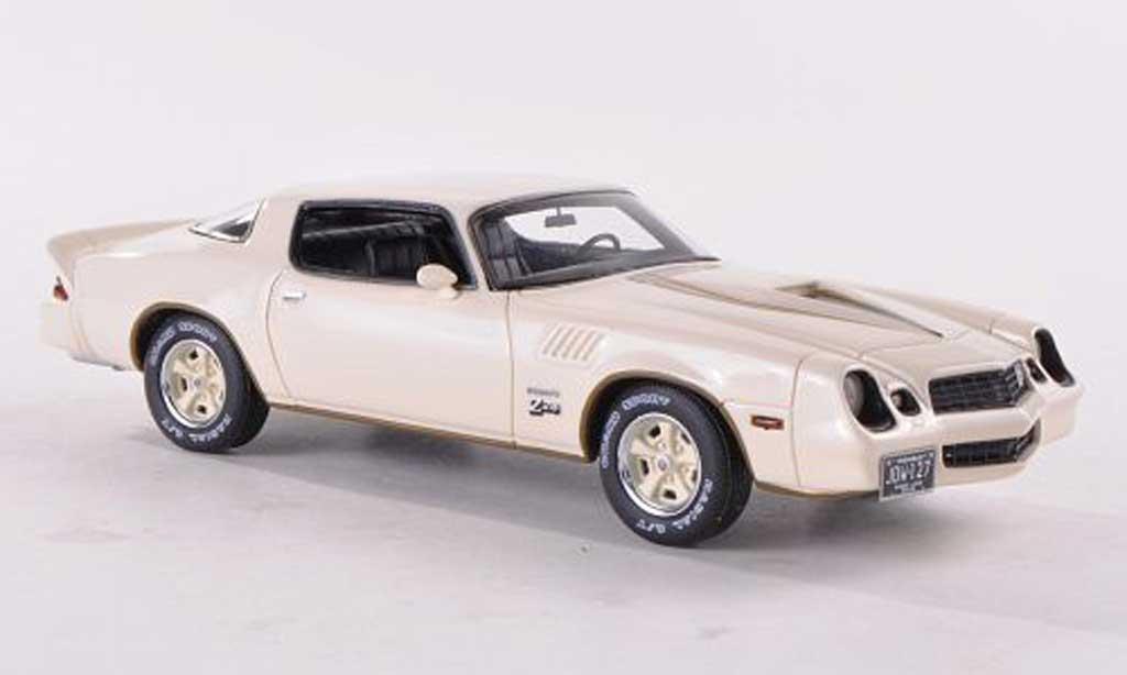 Chevrolet Camaro Z28 1/43 Neo blanche 1978 miniature