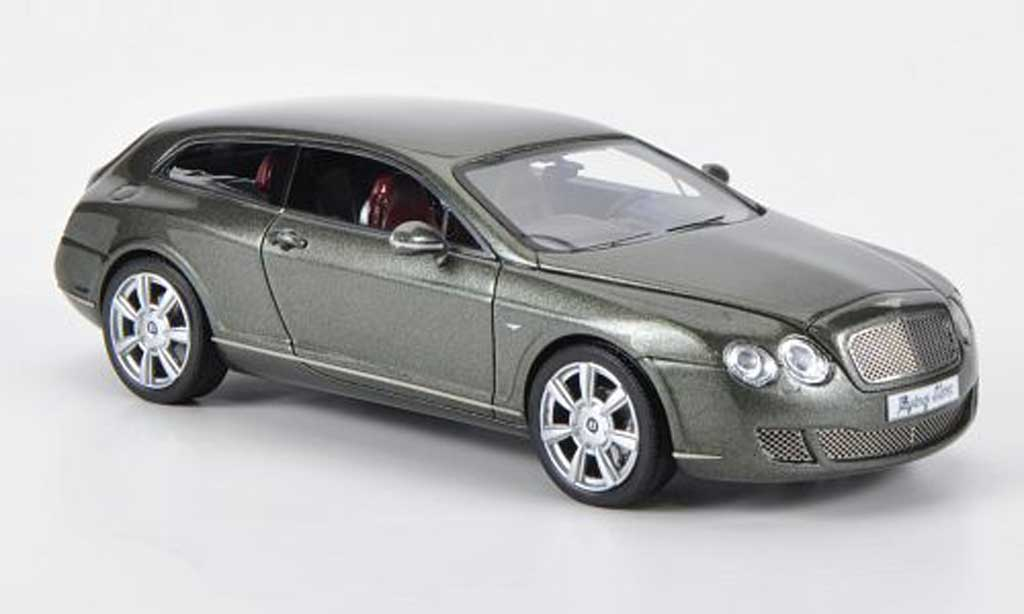 Bentley Continental 1/43 Neo Flying Star by Touring green 2010 diecast