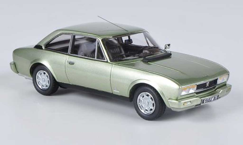 Peugeot 504 coupe 1/43 Neo Phase II grise verte 1980 miniature