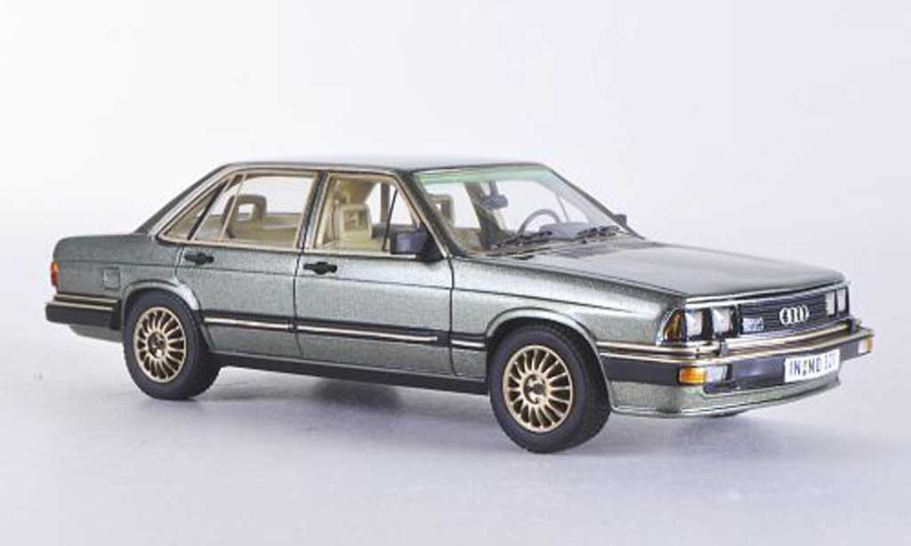 Audi 200 1/43 Neo 5T (Typ 43) grise verte  1980 miniature