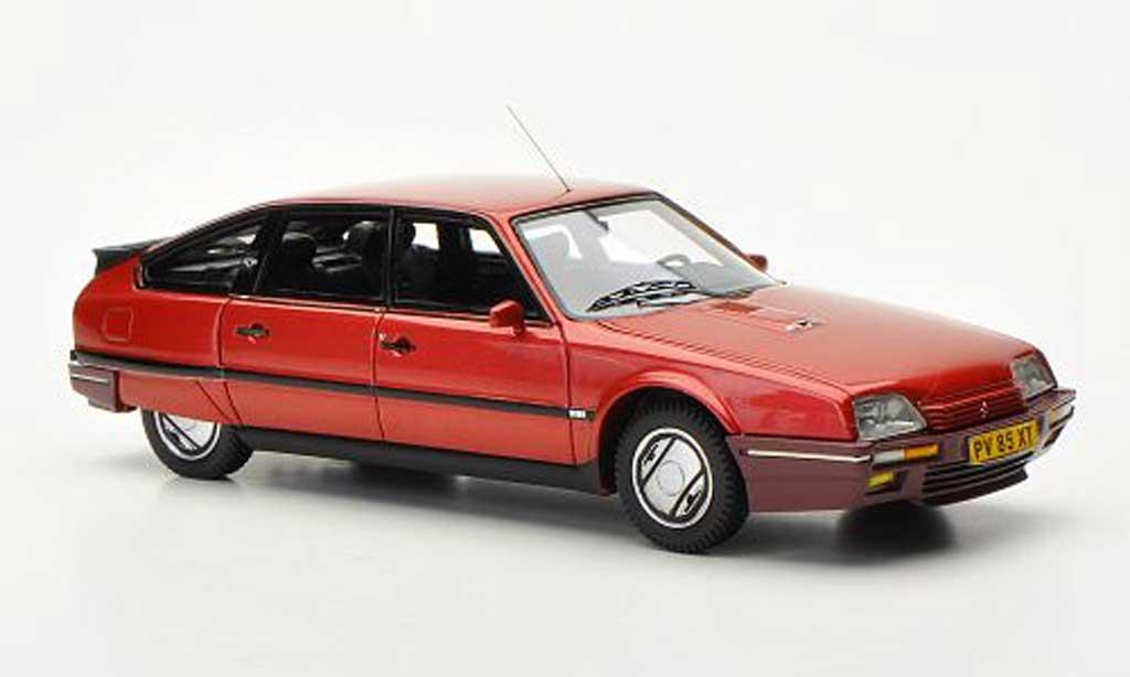 Citroen CX 1/43 Neo GTi Turbo 2 red 1986 diecast model cars
