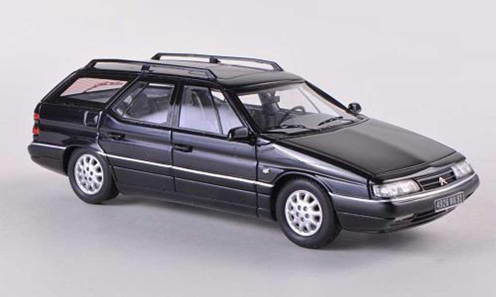 Citroen XM 1/43 Neo Break bleue 1989 miniature
