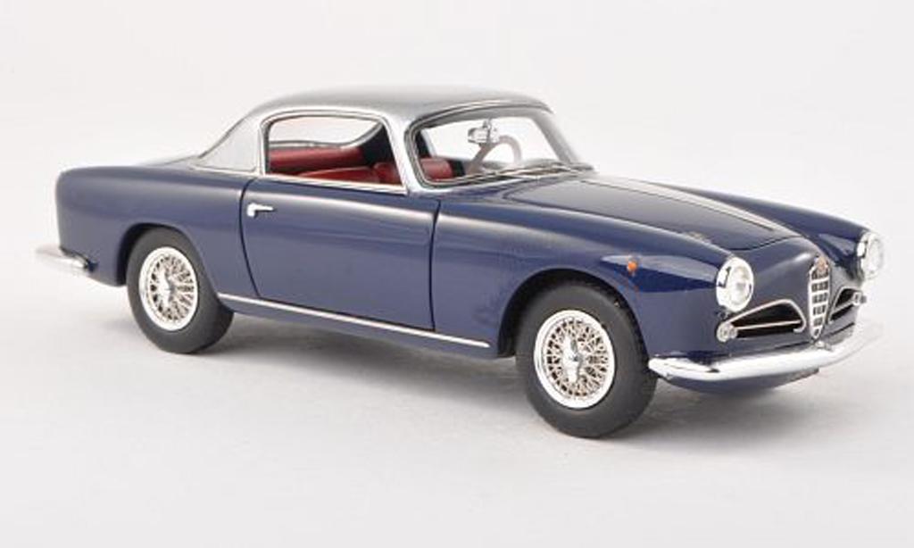 Alfa Romeo 1900 Sprint 1/43 Neo C Touring noire-bleu/grise 1956 miniature