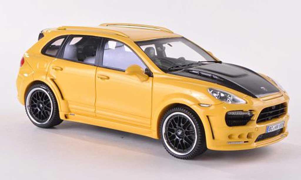 Hamann Guardian 1/43 Neo jaune/carbon  2011 miniature