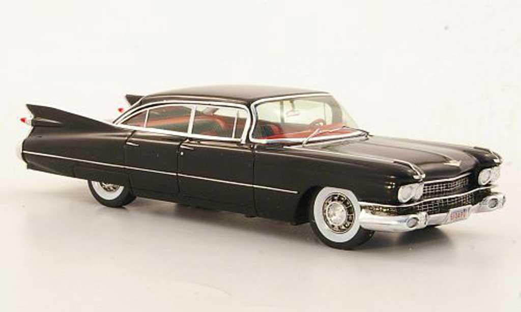 Cadillac Serie 62 1957 1/43 Spark 1957 4-portes 6-Window Hardtop Sedan noire Sondermodell MCW L.E. 300 miniature