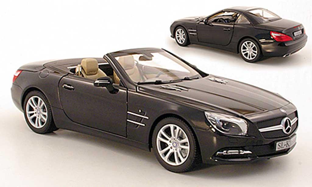Mercedes Classe SL 1/18 Norev (R231) noire 2012 miniature