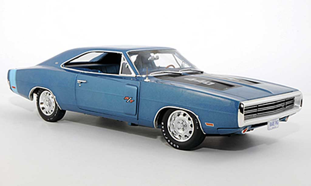 Dodge Charger 1970 1/18 Ertl R/T SE bleu/black