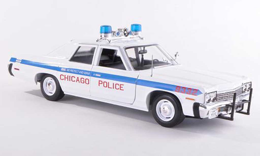 Dodge Monaco 1974 1/18 Ertl Chicago Police police (US) miniature