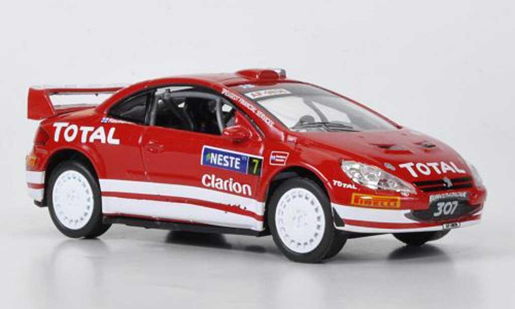Peugeot 307 WRC 1/43 Edison WRC miniatura