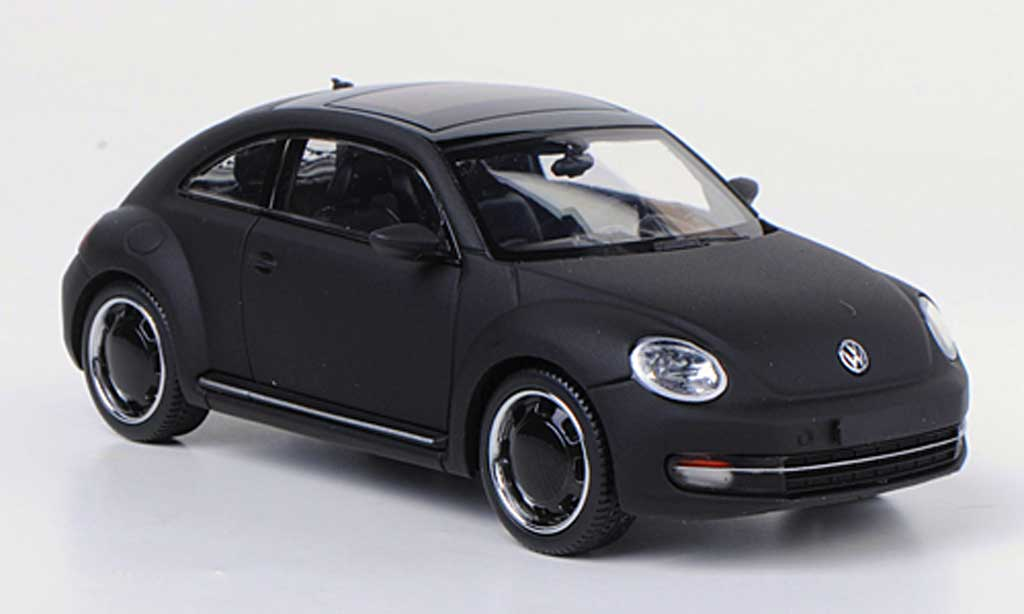 Volkswagen Beetle 1/43 Schuco mattblack concept black diecast