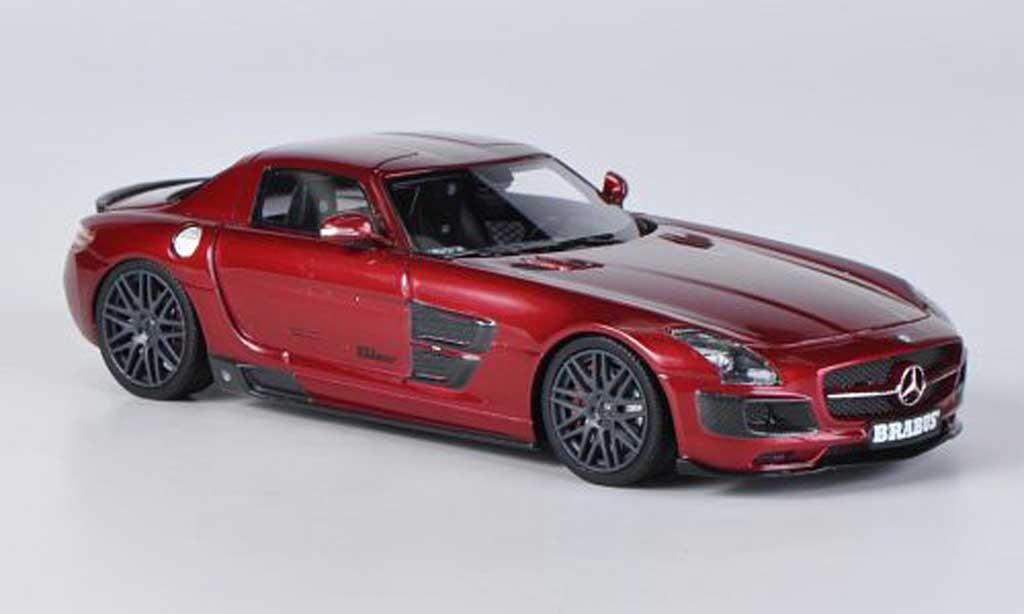 Mercedes 700 Biturbo 1/43 Schuco Brabus rouge miniature