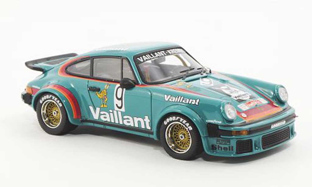 Porsche 934 1976 1/43 Schuco R No.9 Vaillant-Kremer B.Wollek Cup miniature