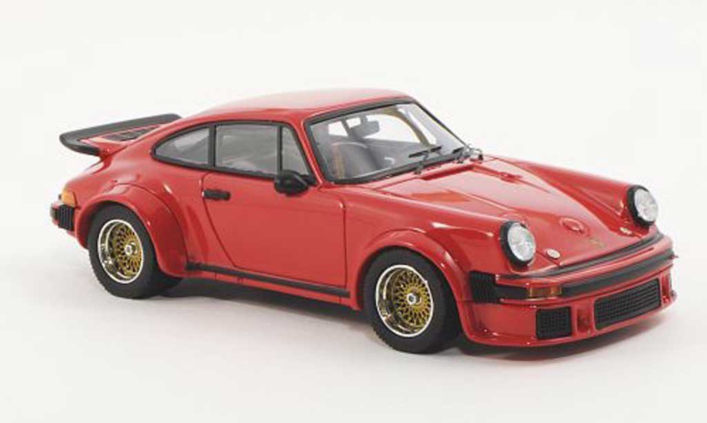 Porsche 934 1976 1/43 Schuco RSR Turbo rouge miniature
