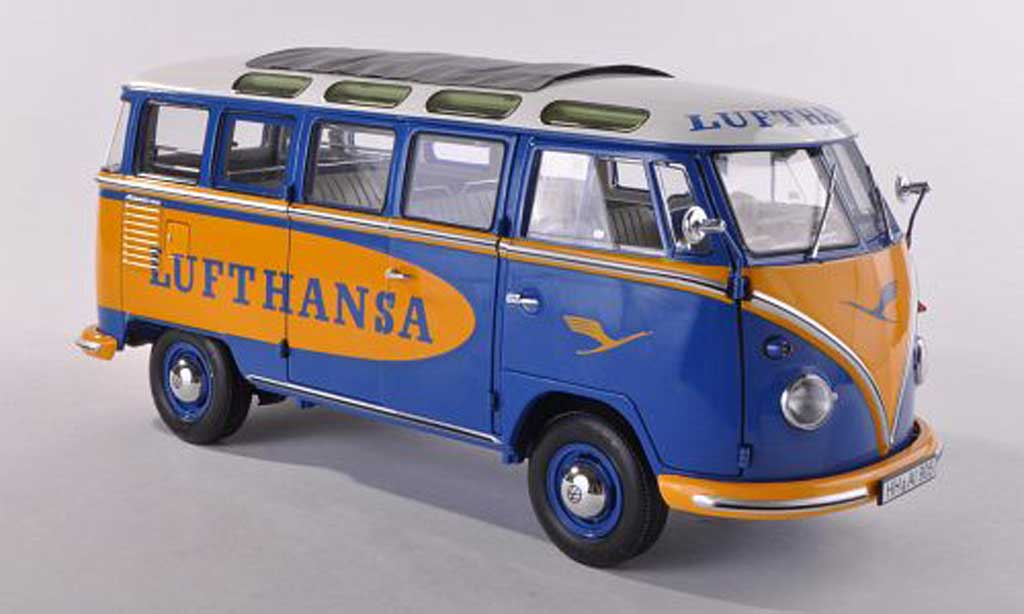 Volkswagen T1 1/18 Schuco Samba Lufthansa  diecast