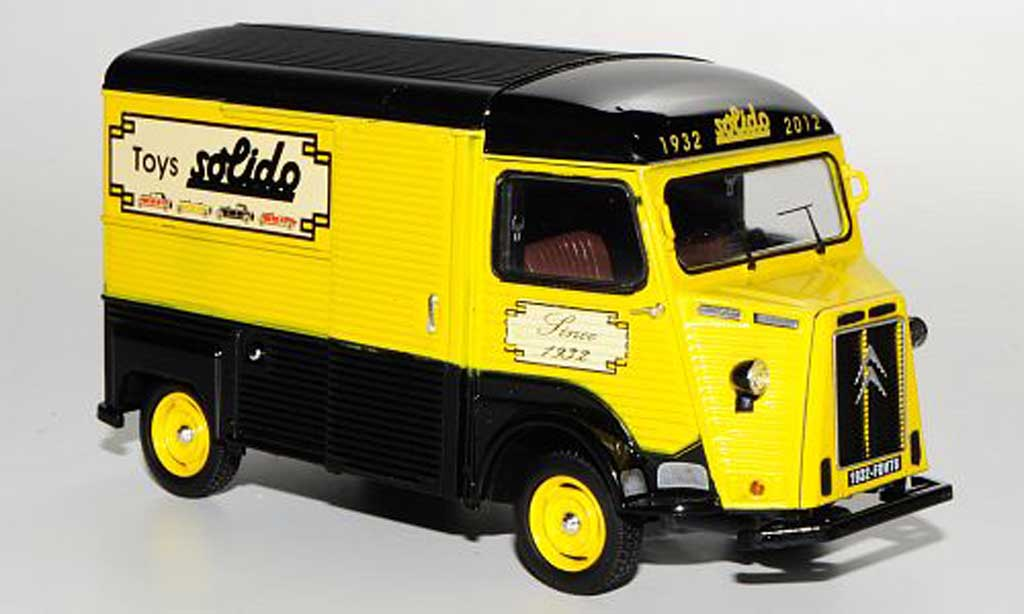 Citroen HY 1/43 Solido Kasten Jouets Solido / 80. Geburtstag / 1932 - 2012 miniature