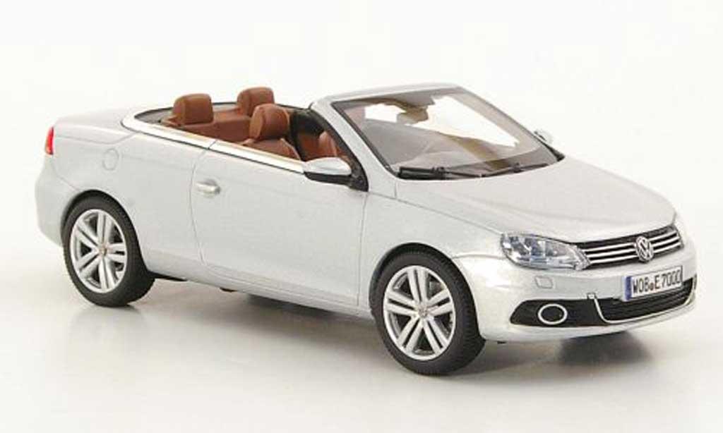 Volkswagen Eos 1/43 Kyosho grise 2011 miniature