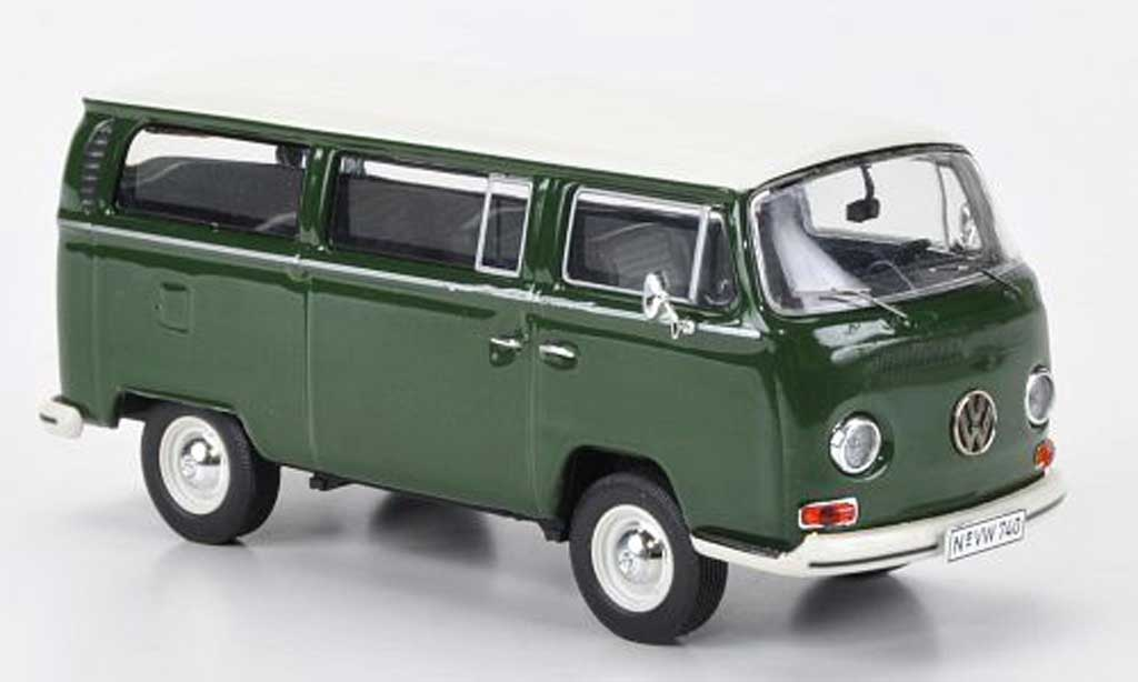 Volkswagen T2 1/43 Premium ClassiXXs a Bus L grun/blanche miniature