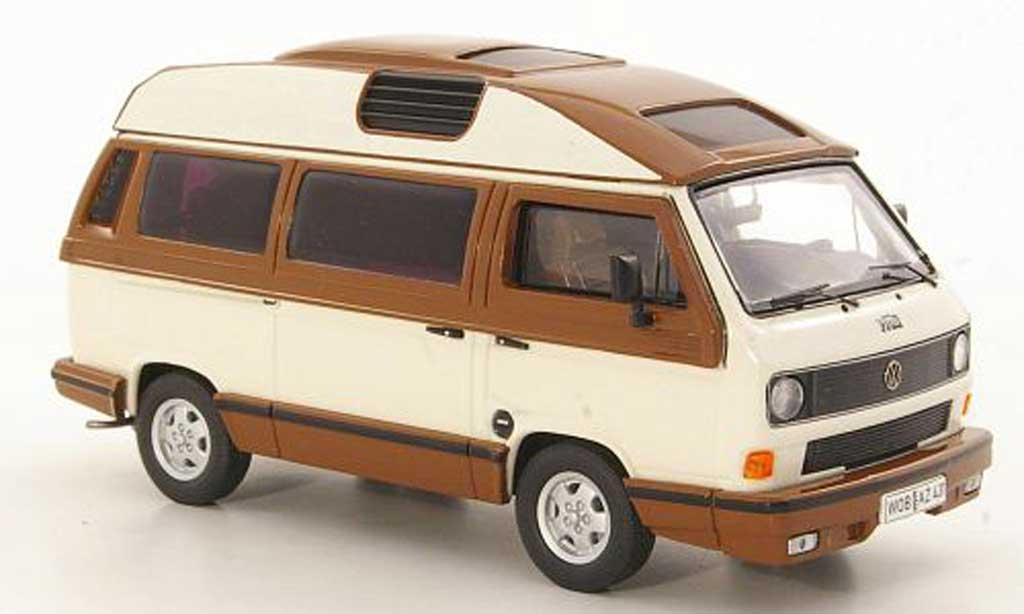 Volkswagen T3 B 1/43 Premium ClassiXXs b Dehler-Profi white/marron