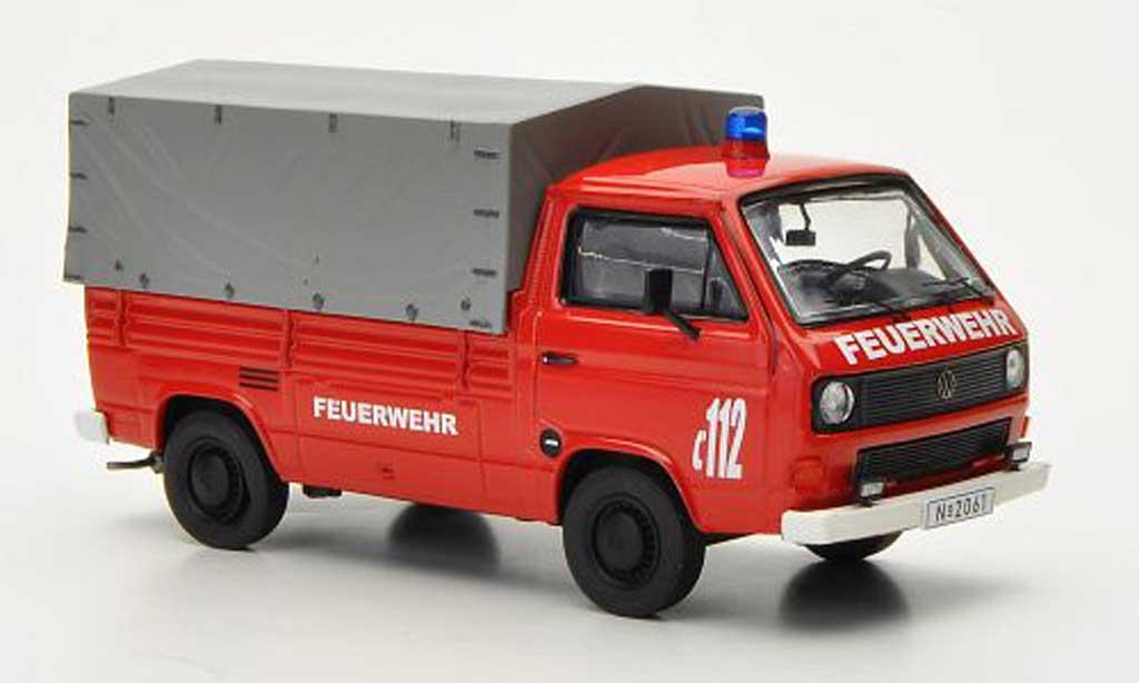 Volkswagen T3 1/43 Premium ClassiXXs b Pritsche/Plane Feuerwehr diecast