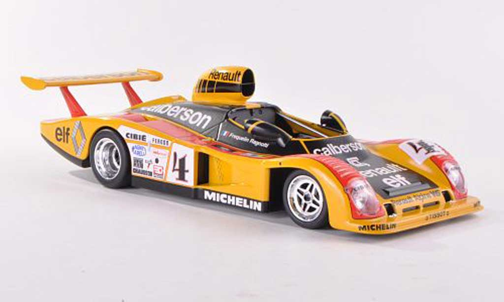 Alpine A442 1/18 Norev No.4 Calberson 24h Le Mans 1978 G.Frequelin/J.Ragnotti miniature