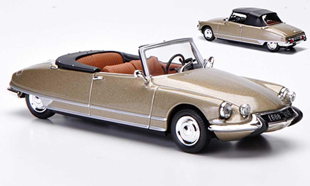 Citroen DS 21 1/43 Norev Cabriolet grisebeige 1966 miniature
