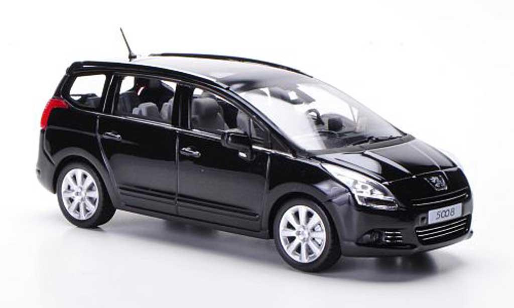 Peugeot 5008 1/43 Norev noire 2009 miniature