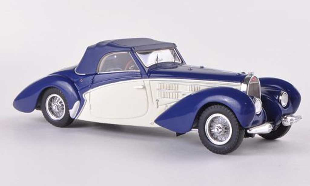 Bugatti 57 C 1/43 Minichamps Aravis bleu/blanche 1939 miniature