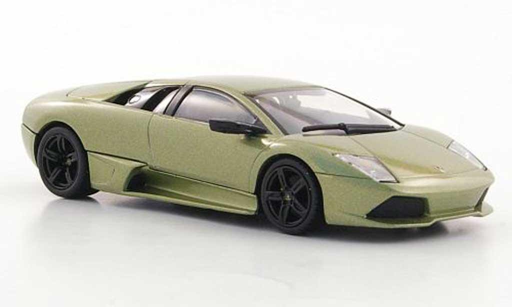 Lamborghini Murcielago LP640 1/43 Minichamps LP 640 graygreen avec Figur 2006 diecast