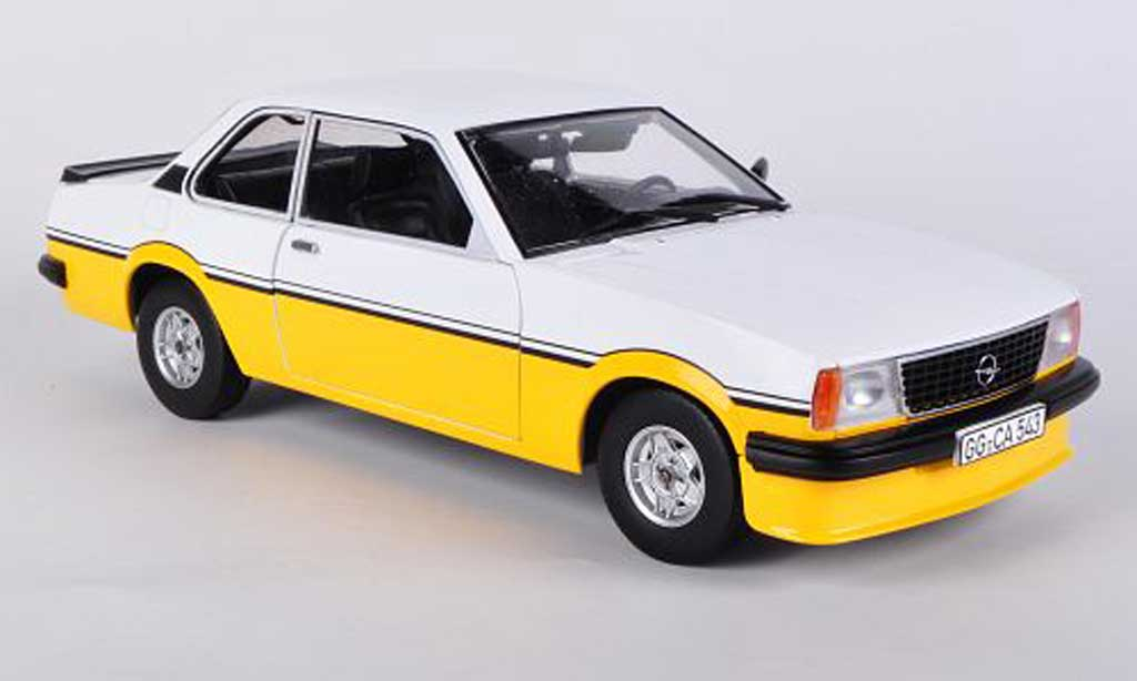 Opel Ascona B 1/18 Sun Star i2000 blanche/jaune 1979