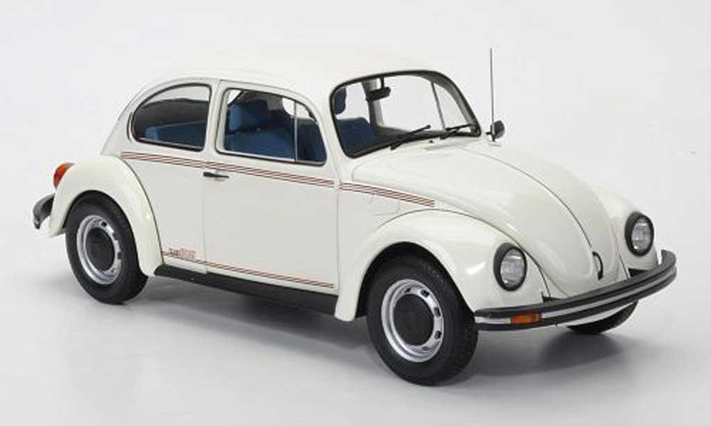 Volkswagen 1200 1/18 Minichamps Jeans Bug white 1983 diecast