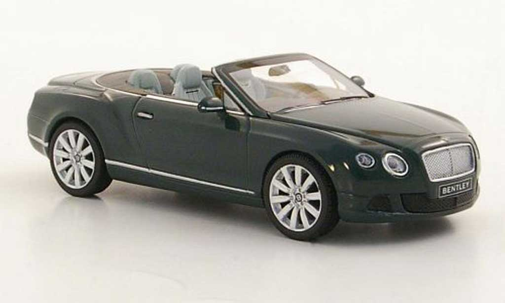 Bentley Continental 1/43 Minichamps GTC verte 2011 miniature